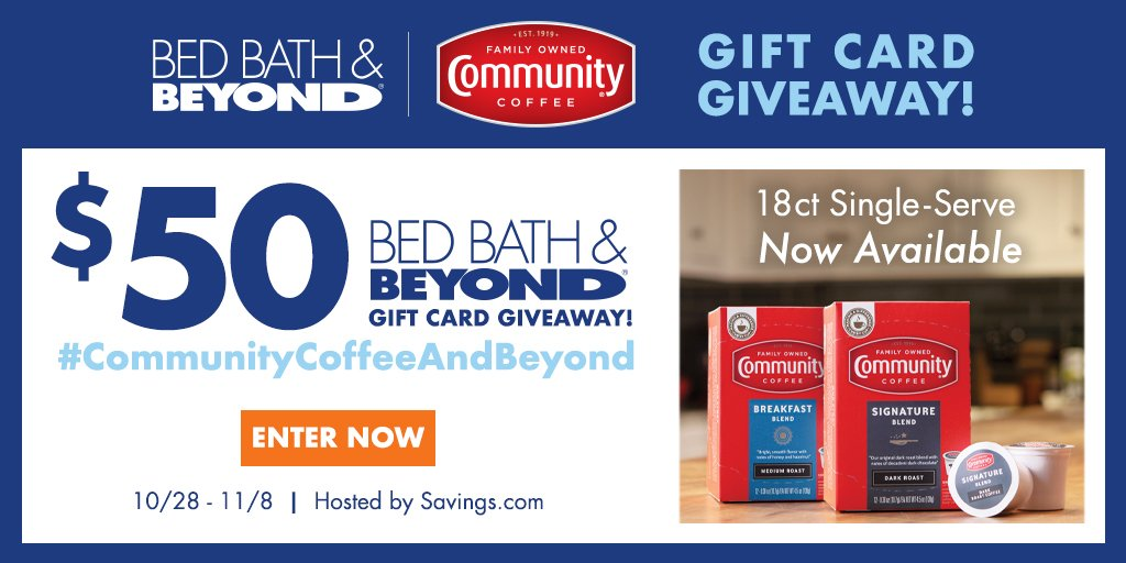 Win a $50 Bed Bath & Beyond Gift Card!