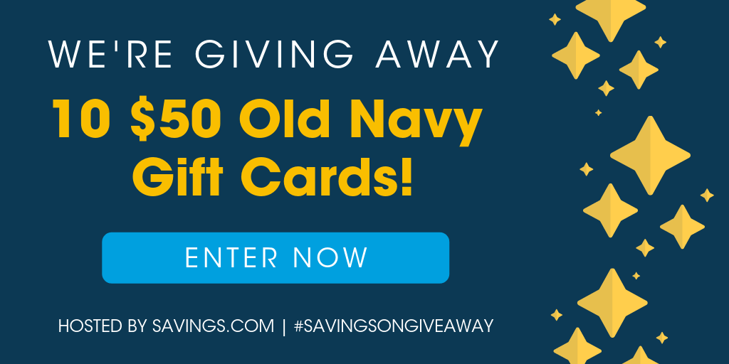 Win an Old Navy gift card!
