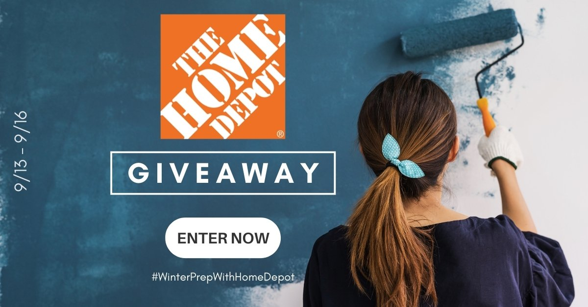 Win a $250 e-gift card from Home Depot!